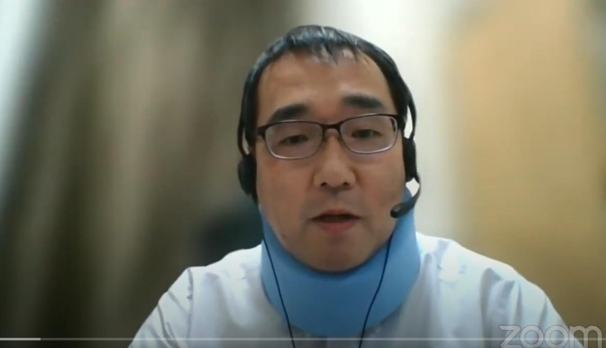 第32回肺がん医療向上委員会WEBセミナー大泉先生